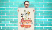 Walt Disney Fantasia Movie Vintage Art - Wall Art Print Poster   -  Poster Geekery